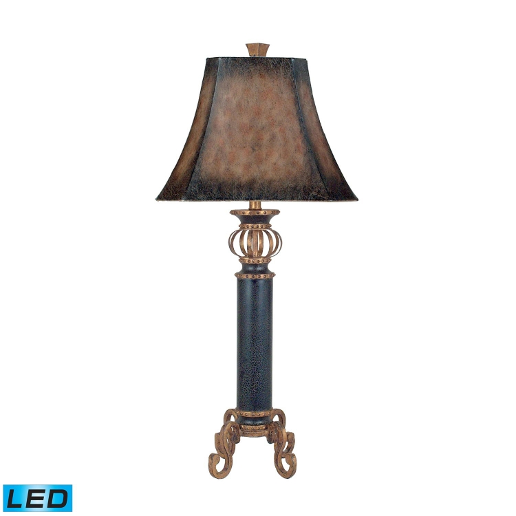 96-634-LED Iron Footed Column Table Lamp