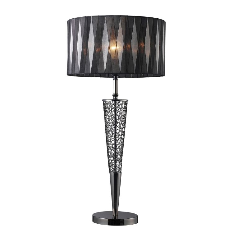 D1462 Glendon Table Lamp - Black Nickel