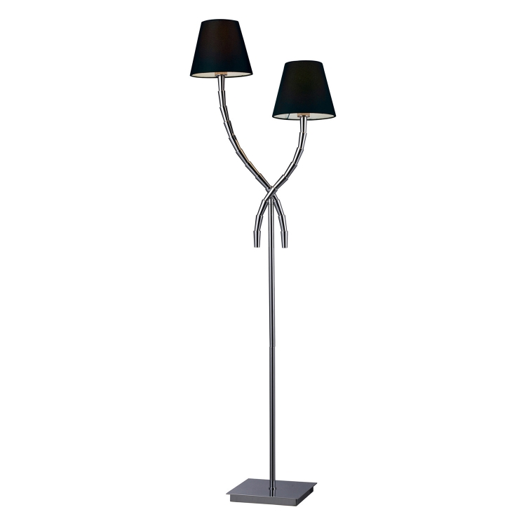 D1474 Park Avenue Floor Lamp - Chrome - Elk Lighting