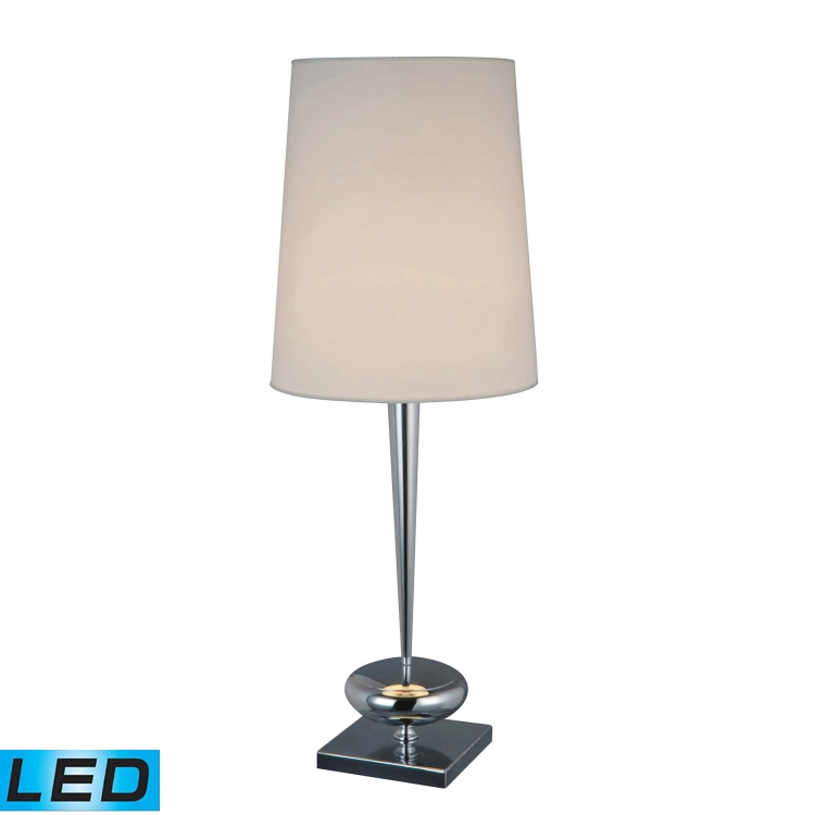 D1516-LED Sayre Table Lamp - Chrome - Elk Lighting