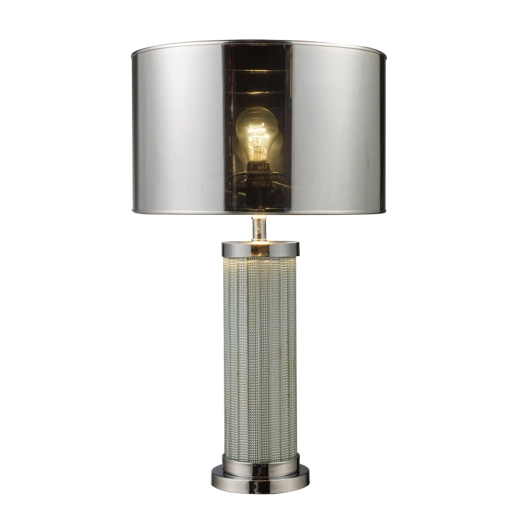 D1596 Mont Alto Table Lamp - Chrome and Mirror