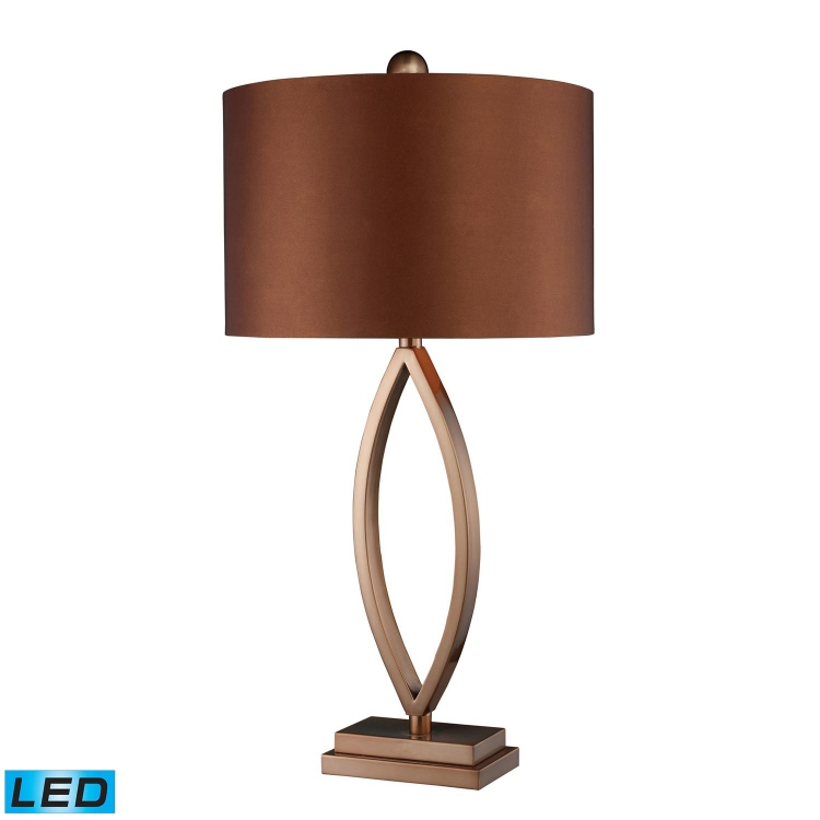 D1712-LED Dale Table Lamp - Coffee Plating