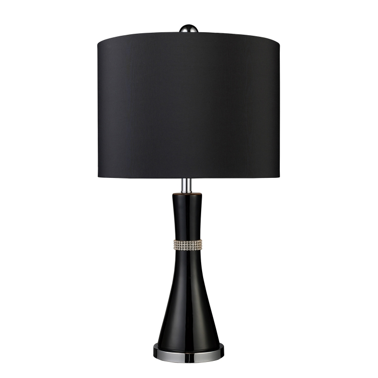 D1713 Sanyan Table Lamp - Gloss Black