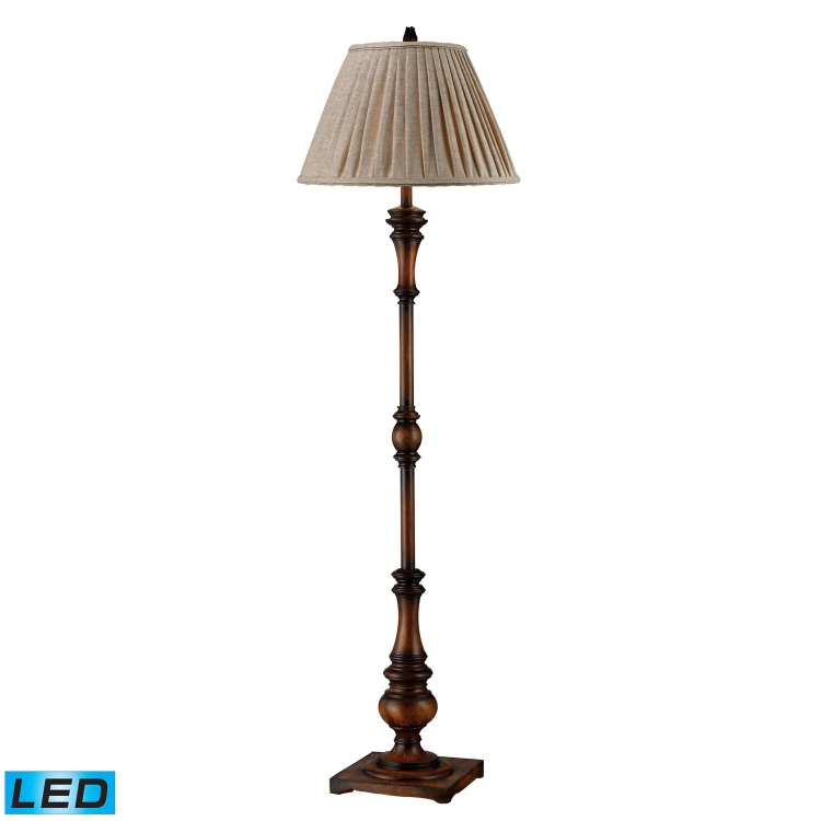 D1755-LED Winthorpe Floor Lamp - Zen Walnut - Elk Lighting