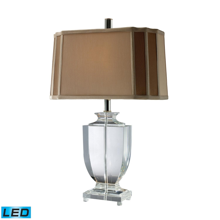 D1814-LED Layfette (Duplicate?) Table Lamp - Clear Crystal