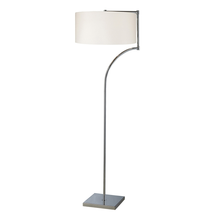 D1832 Lancaster Floor Lamp - Chrome - Elk Lighting