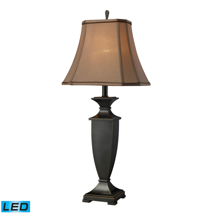 D1861-LED Ashville Table Lamp - Oil Rubbed Bronze - Elk Lighting
