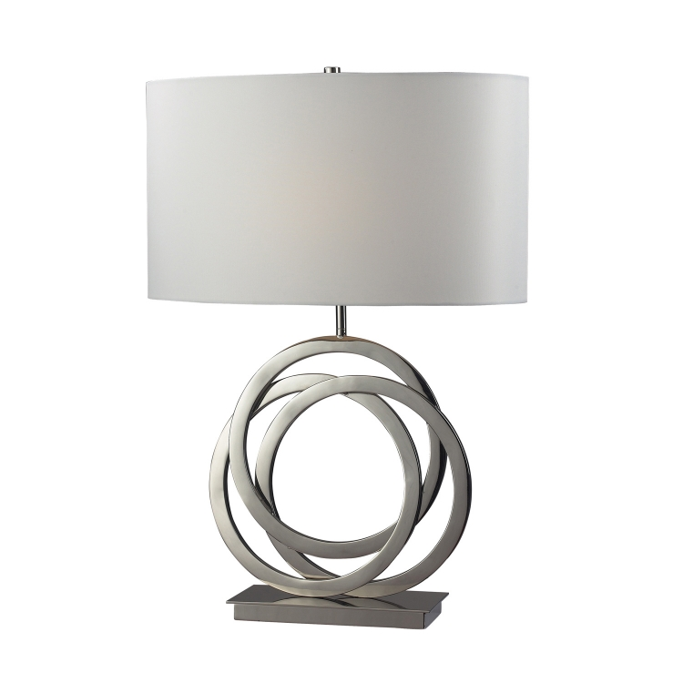 D2058 Trinity Table Lamp - Polished Nickel