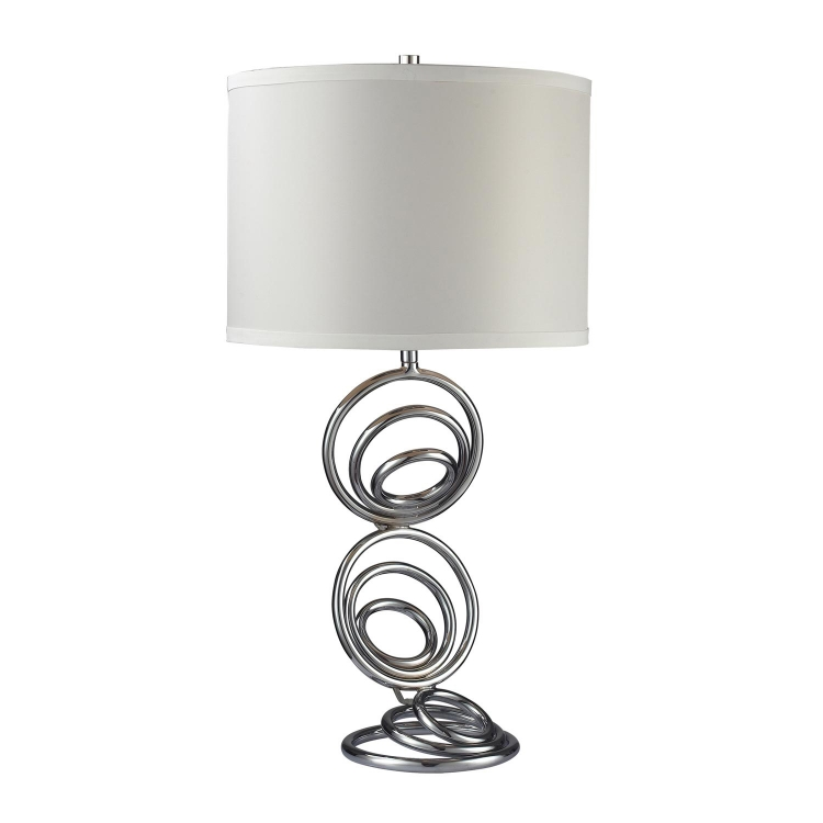 D2059 Franklin Park Table Lamp - Chrome