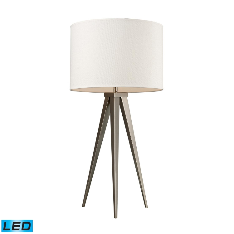 D2122-LED Salford Table Lamp - Satin Nickel