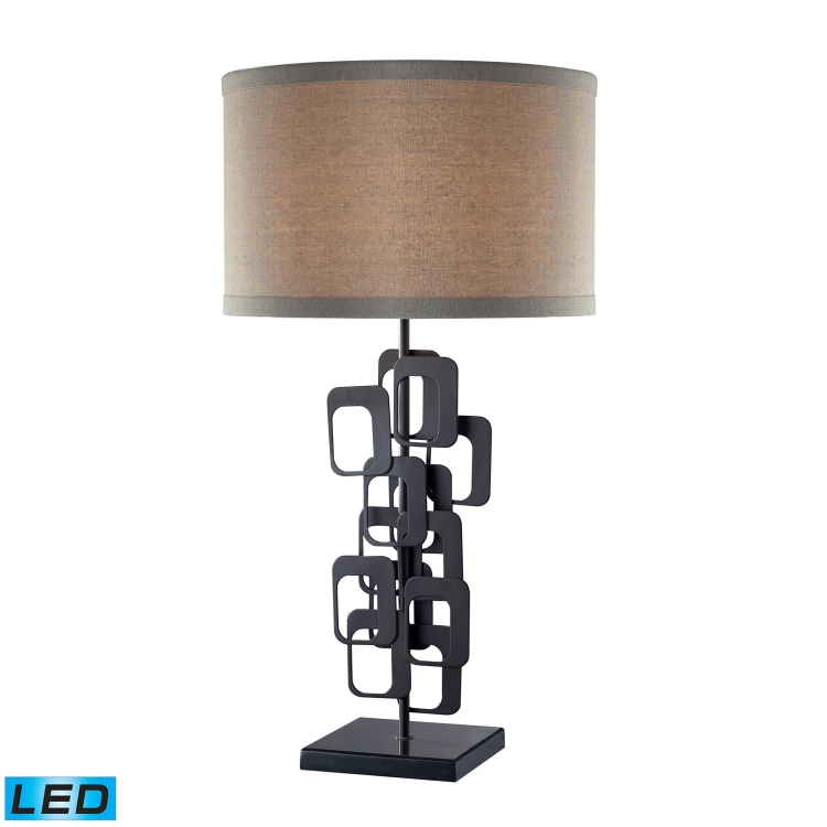 D2135-LED Griffin Table Lamp - Matte Black - Elk Lighting
