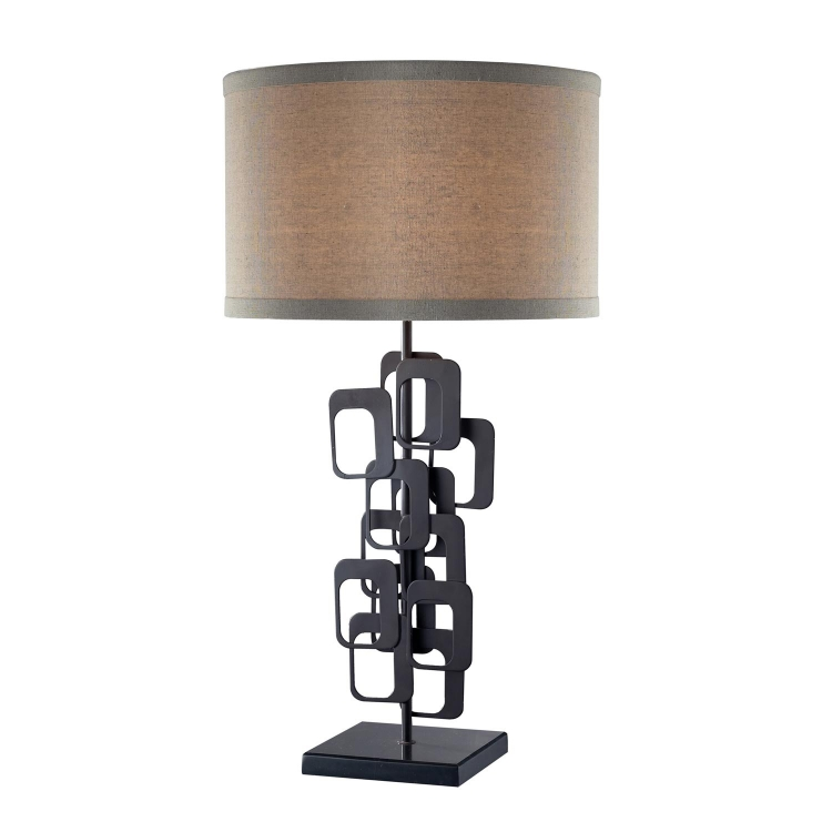 D2135 Griffin Table Lamp - Matte Black - Elk Lighting
