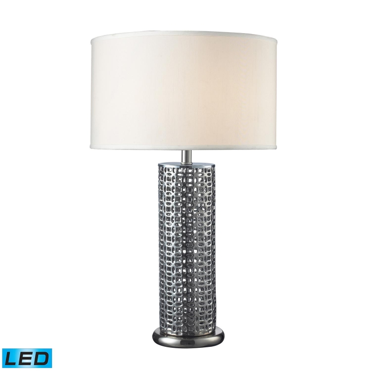 D2167-LED Chancelor Table Lamp - Chrome Plated - Elk Lighting