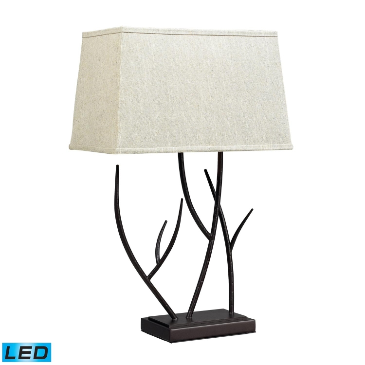 D2209-LED Winter Harbour Table Lamp - Bronze
