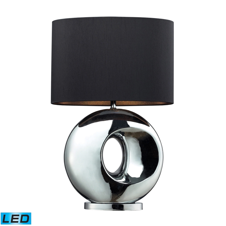 D2236-LED Tobermore Table Lamp - Chrome