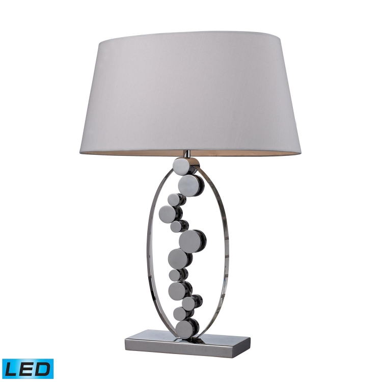 D2323-LED Sidney Table Lamp - Chrome