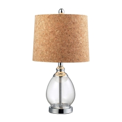 HGTV142 Table Lamp - Clear