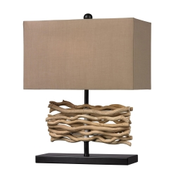 HGTV157 Table Lamp - Black+Nature - Elk Lighting