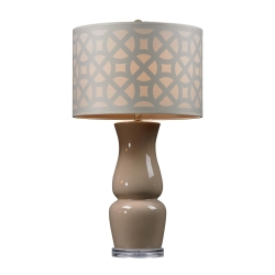 HGTV158 Table Lamp - Ballygowan Taupe - Elk Lighting