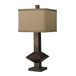 HGTV305 Table Lamp - Burnished Bronze