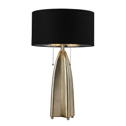 HGTV311 Table Lamp - Gold Leaf with Antique - Elk Lighting
