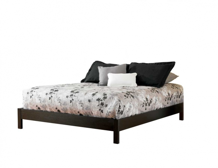 Murray Platform Bed-Black