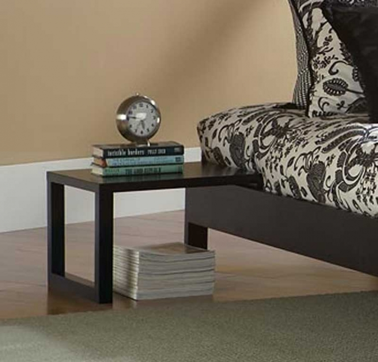 Murray Side Table-Black-Fashion Bed Group