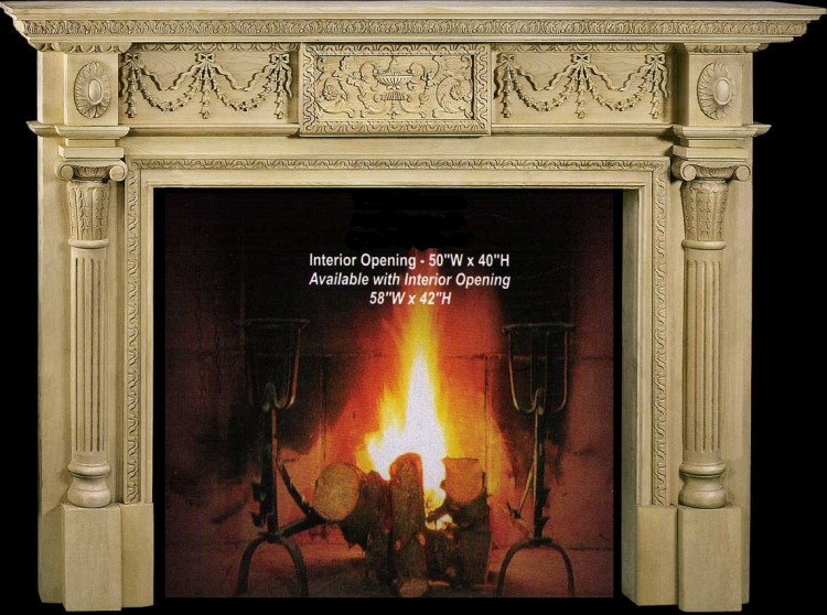 Antoinette Fireplace Mantel Collection-CVH Int