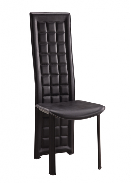 027 Dining Chair - Black