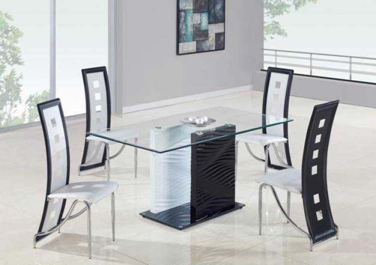 1021 Dining Set - Global Furniture
