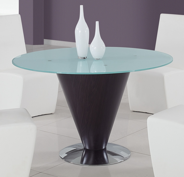 105 Dining Table - Frosted Glass