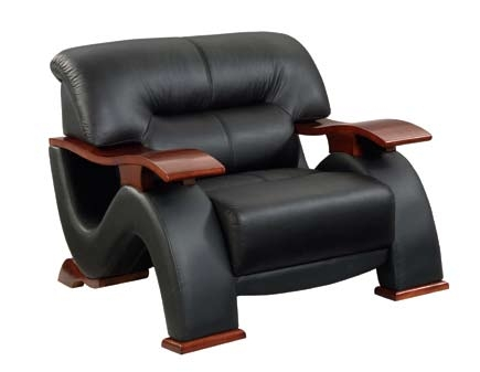2033 Chair - Black - Global Furniture