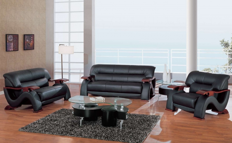 2033 Living Room Collection - Black - Global Furniture