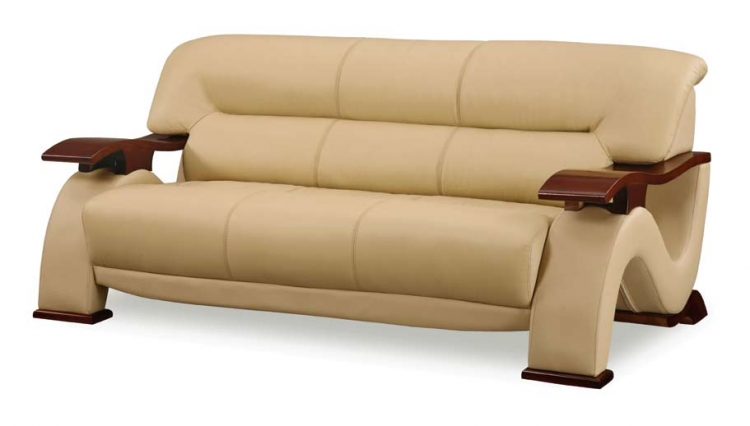 2033 Sofa - Cappuccino - Global Furniture