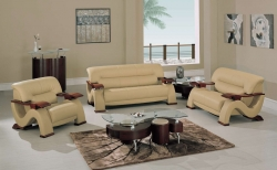 2033 Living Room Collection - Cappuccino - Global Furniture