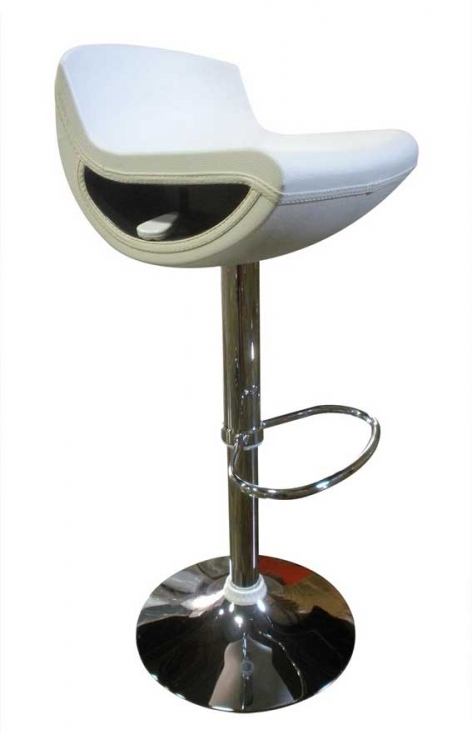 207 Bar Stool - White