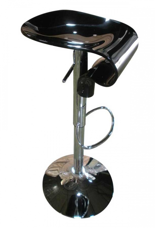 215 Bar Stool - Black - Global Furniture