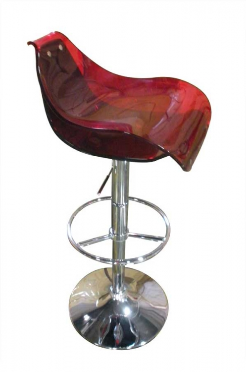 250 Bar Stool - Red and Black