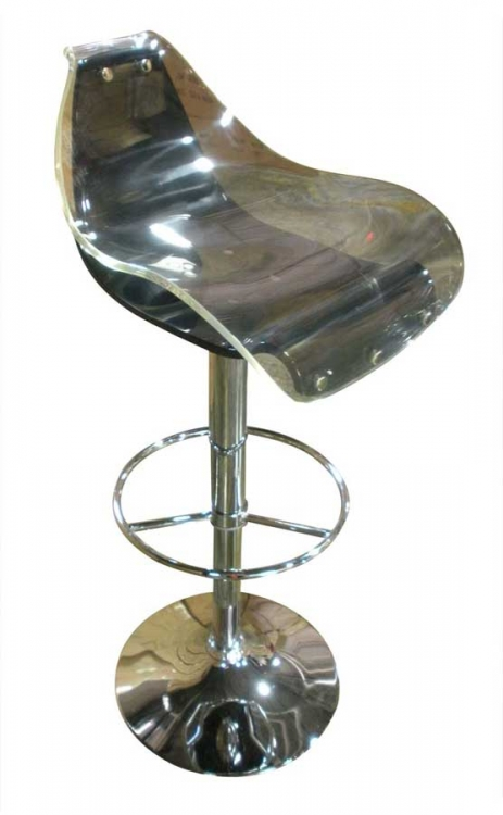 250 Bar Stool - White and Black - Global Furniture