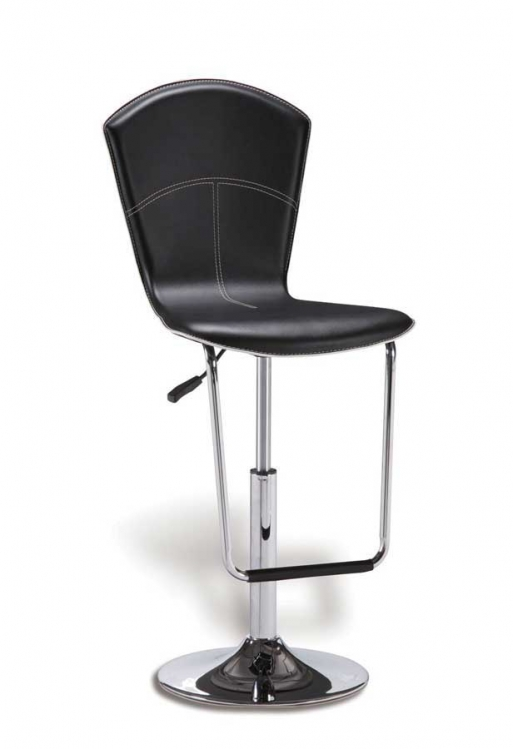 260 Barstool - Black - Global Furniture