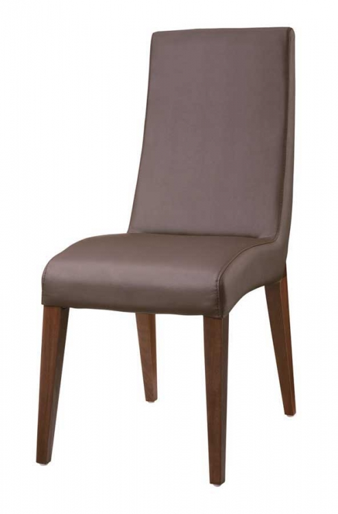 GF-388 Dining Chair-Wenge Leather
