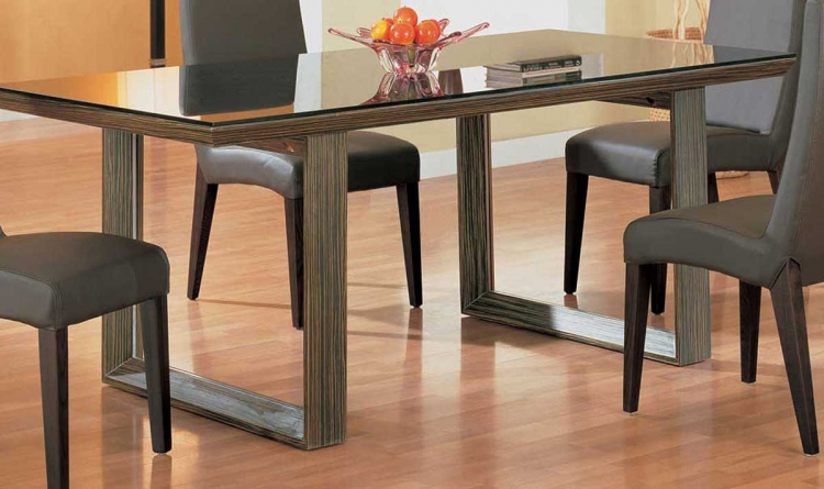 GF-498 Dining Table-Zebrano