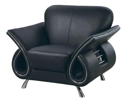 559 Chair - Black - Global Furniture
