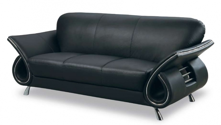 559 Sofa - Black - Global Furniture