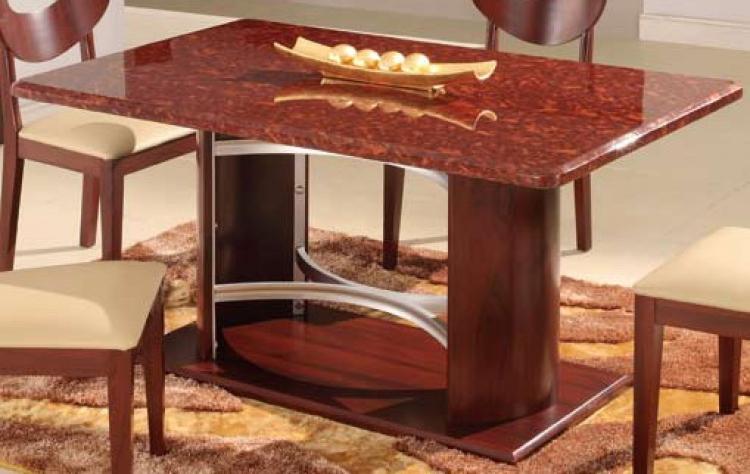 GF-6010 Dining Table - Mahogany
