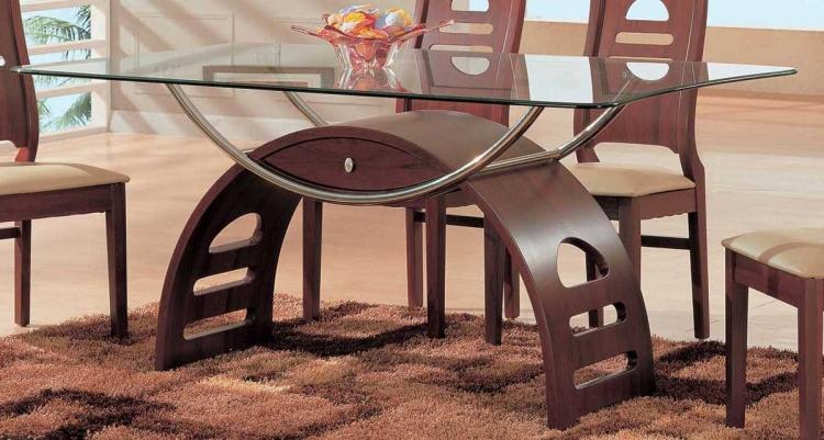 GF-63 Dining Table-Mahogany