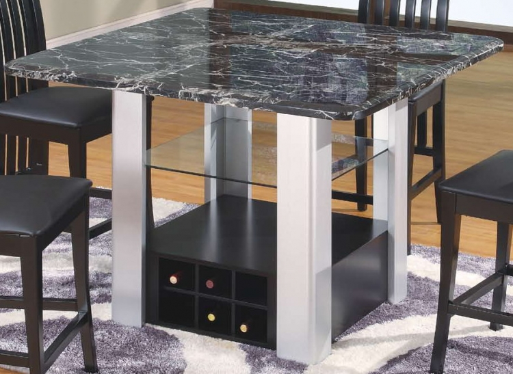 7040 Bar Table - Black