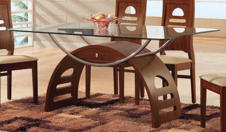73 Dining Table - Mahogany