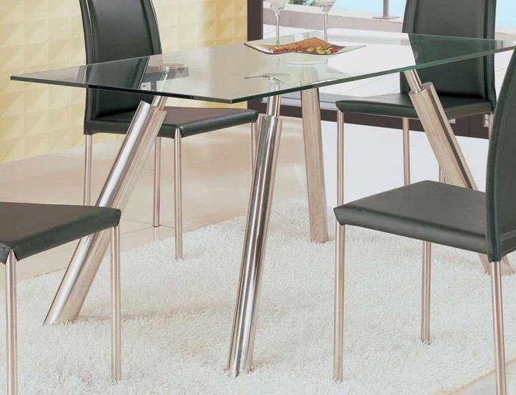 GF-8065 Dining Table-Silver