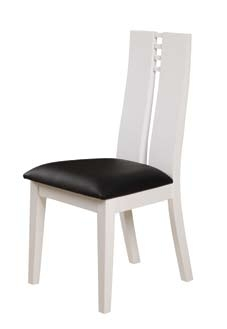 GF-822 Dining Chair - Black/White
